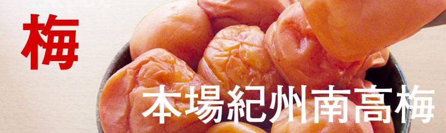 梅干しの名産地の和歌山から美味しい梅干しを取り寄せました。